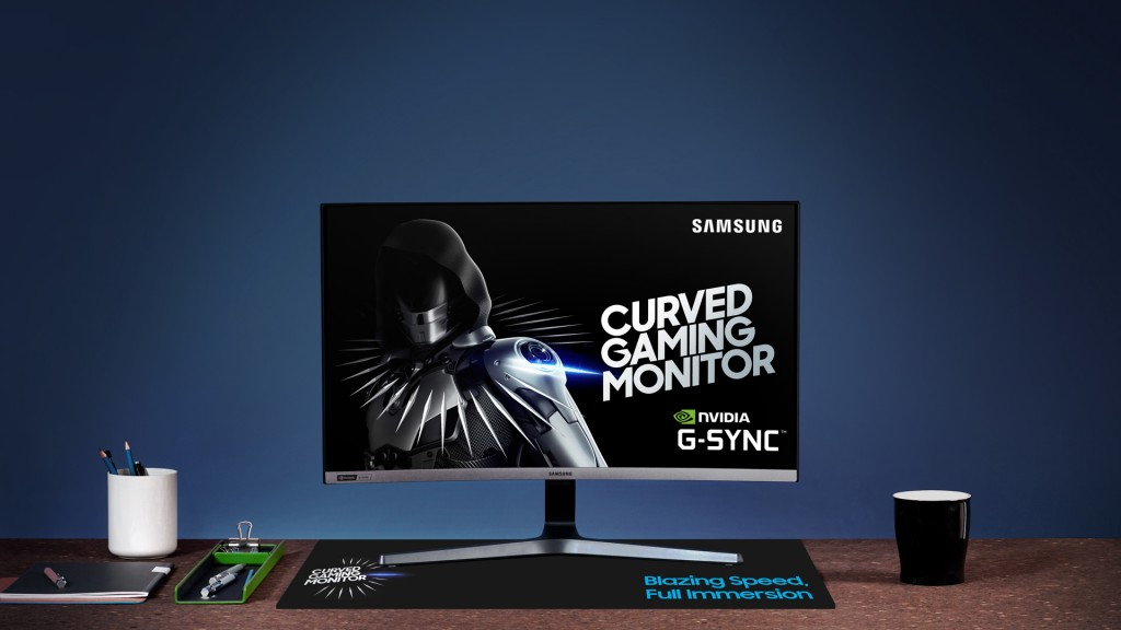 Samsung Curved Gaming Monitor CRG527_1