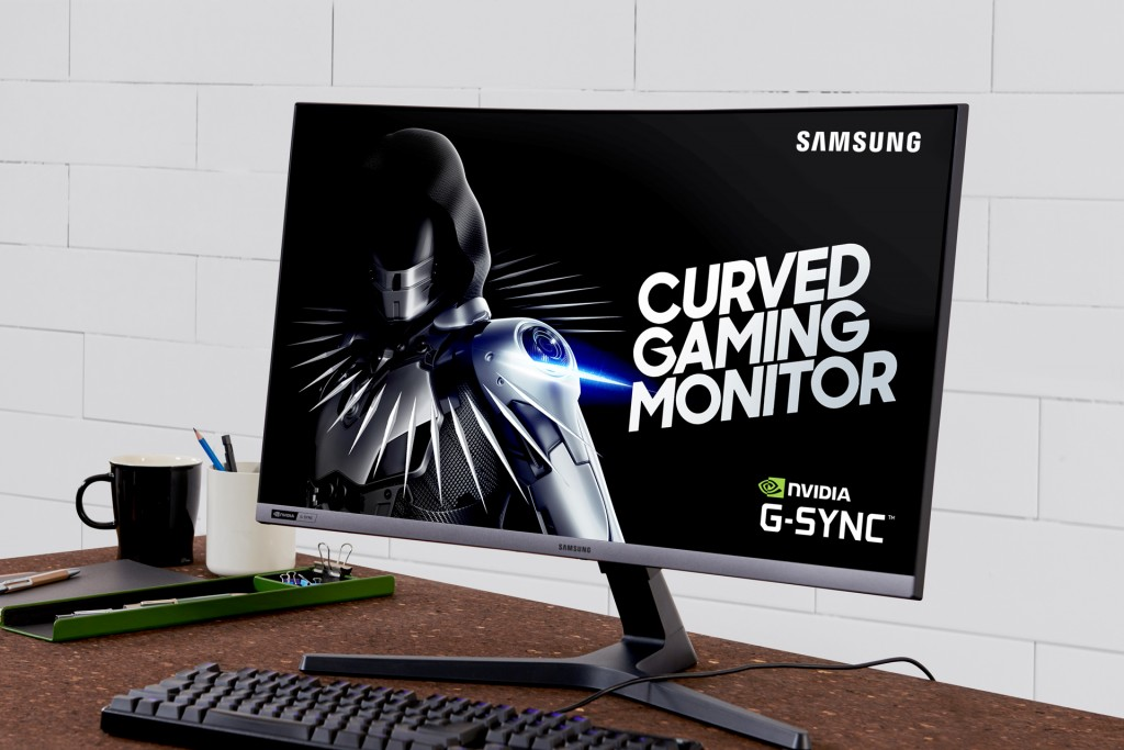 Samsung Curved Gaming Monitor CRG527_2